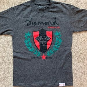 Gray Diamond Supply Co T Shirt
